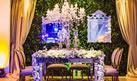 Muito luxo e sofisticação na decoração deste casamento que aconteceu no Maggiore Eventos.
