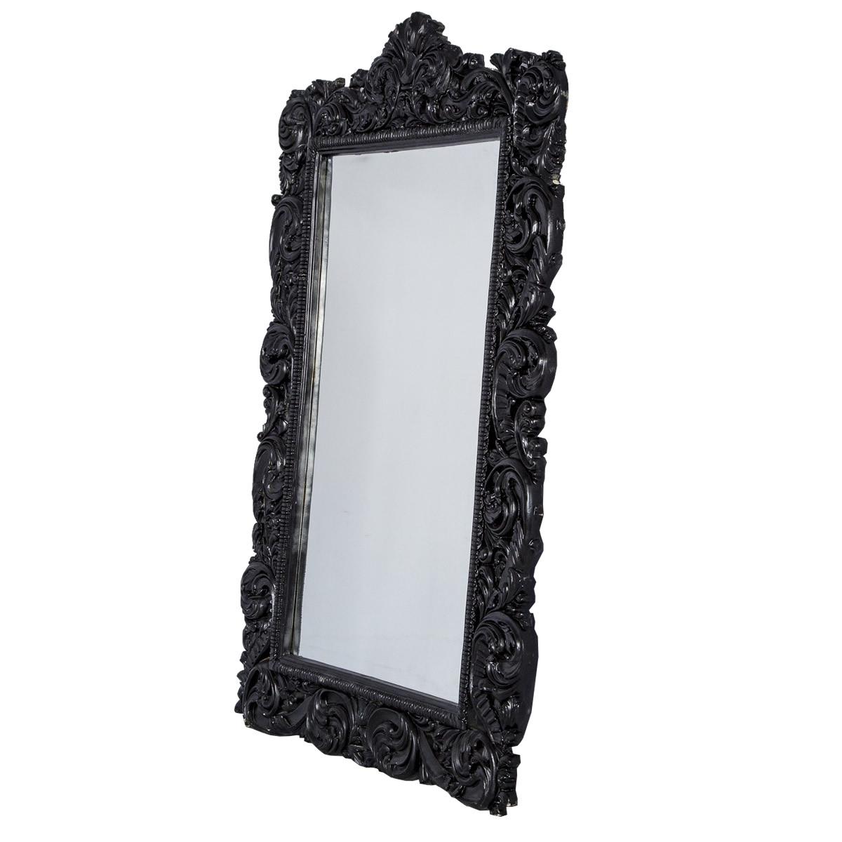 Espelho Maria Porpurina Preto
