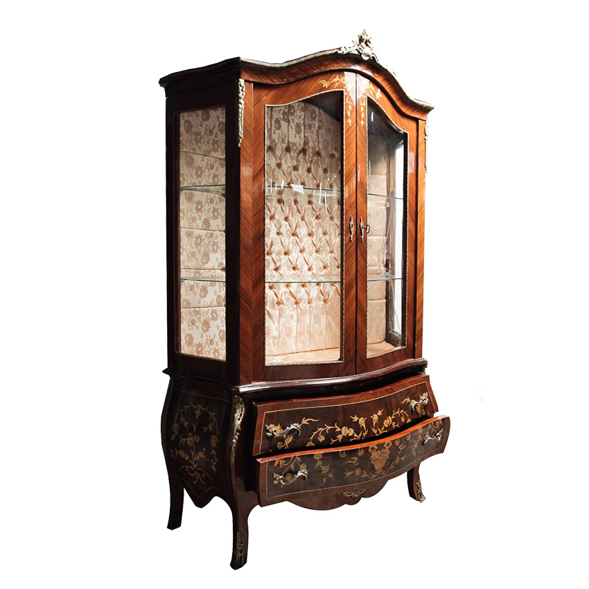 Cristaleira Luis XV
