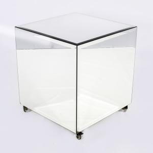Mesa de Apoio Cubo Espelhado