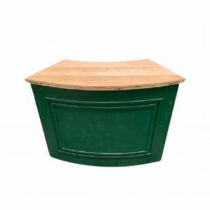 Bar Verde Musgo Curvo