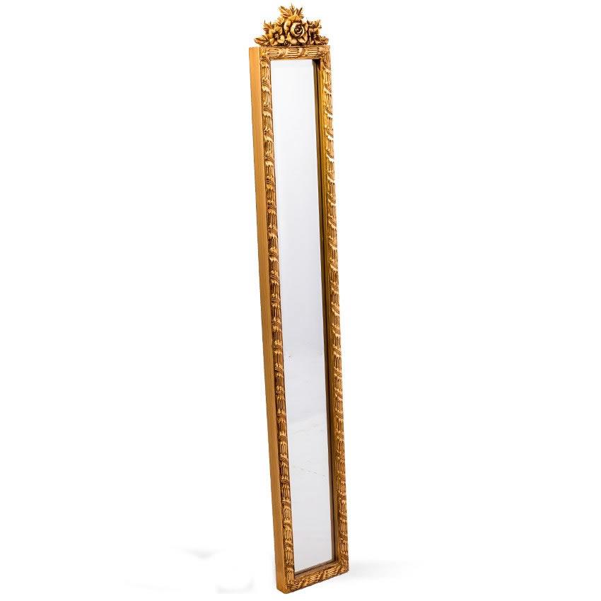 Espelho Filete Dourado