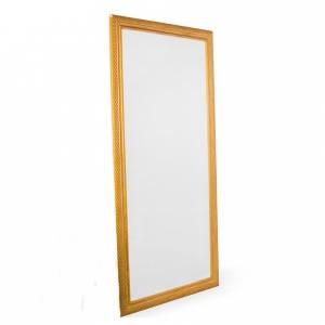 Espelho Moldura Fina Dourado