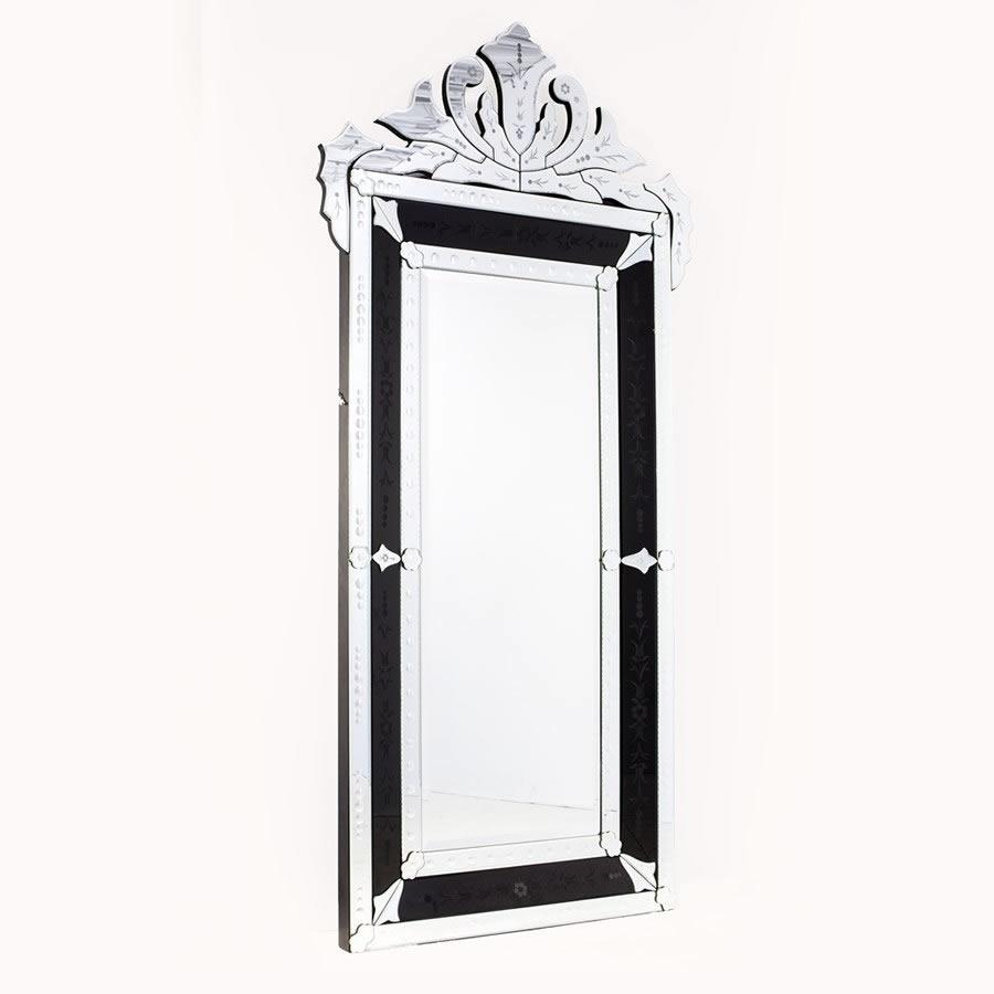 Espelho Veneziano - Preto