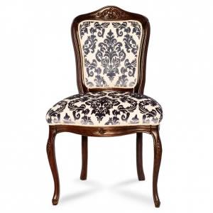 Cadeira Floral Azul
